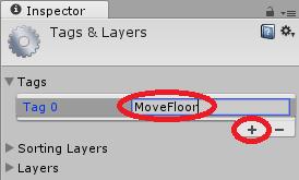 MoveFloorというタグを加える。